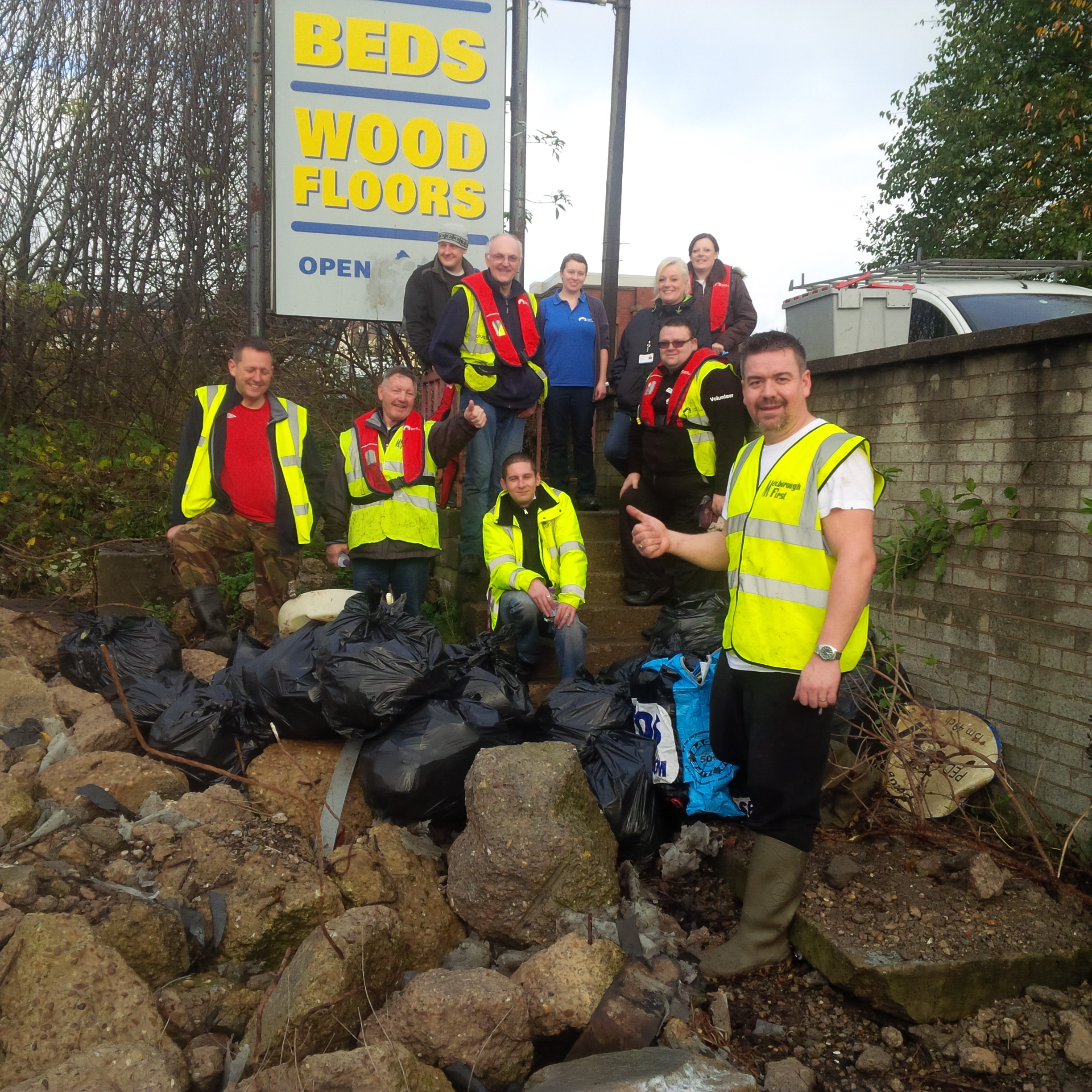 Mexborough Canal Clean-up success