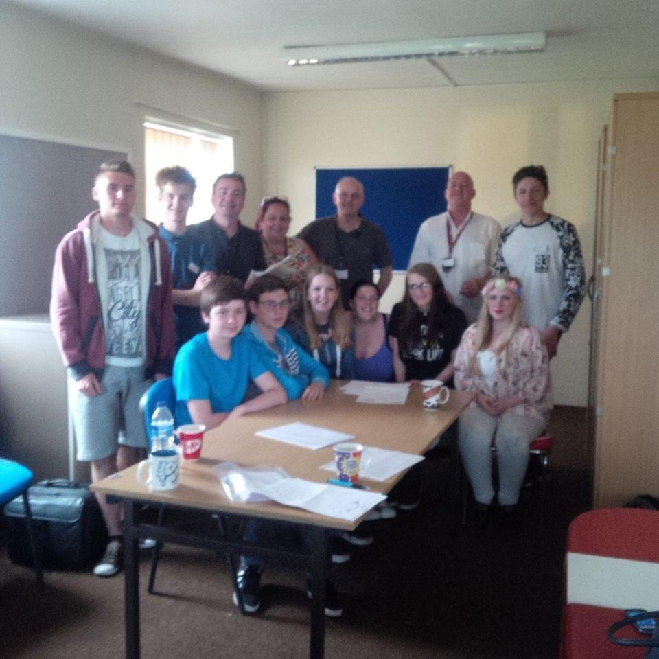 Meeting local young people at Mexborough Youth Surgery