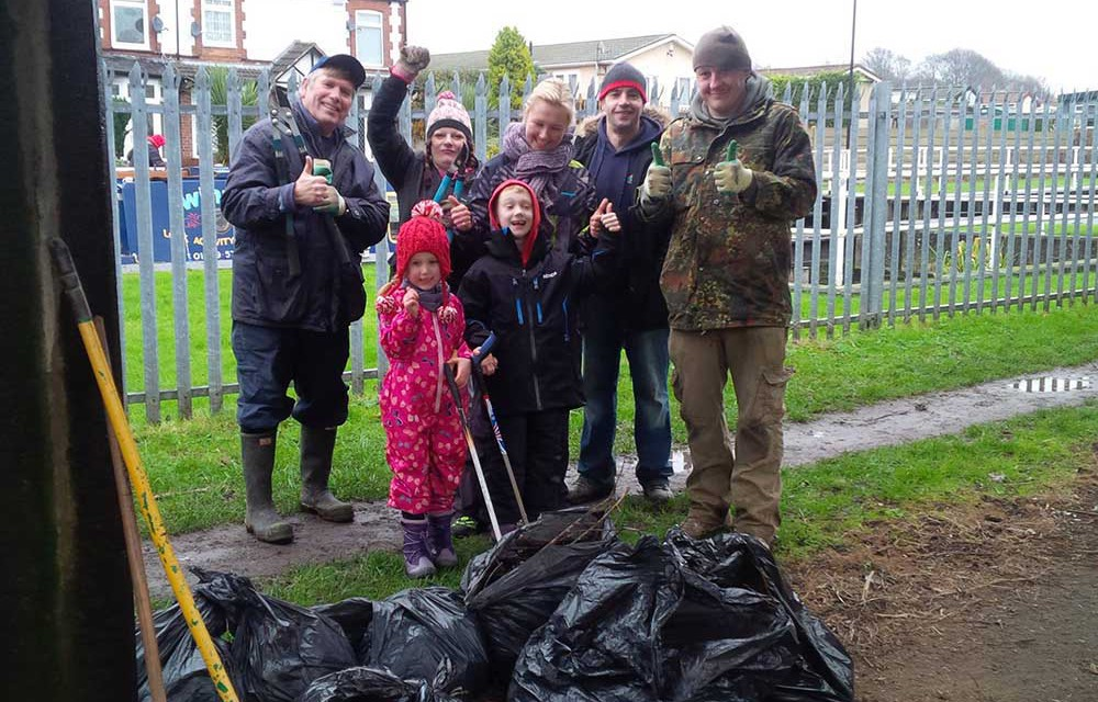 Ferryboat Slipway & Canal clean-up January 2016