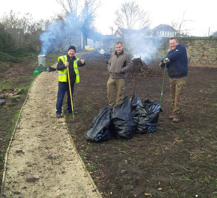 Working with Mexborough Community Campus to create Nature Garden