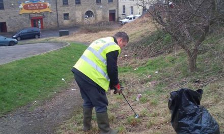 Cleaning Areas off New Oxford Road