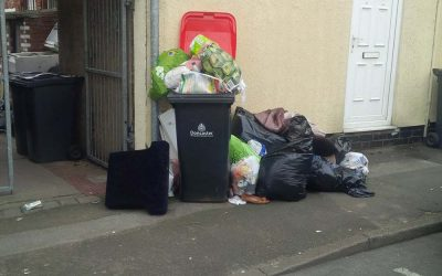 Mexborough First Cllrs demand black bins emptied ASAP