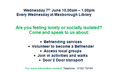 Mexborough's Conversation Point @ Mexborough Library.