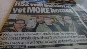 More lies from Hs2 - Doncater Free Press front page