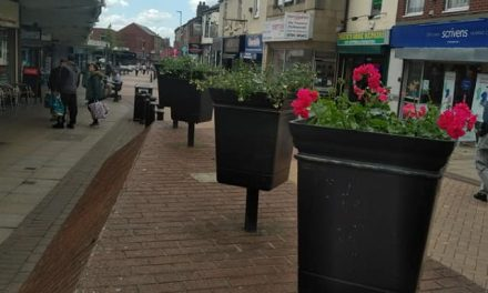Town Centre Planters Finally Tidied Up