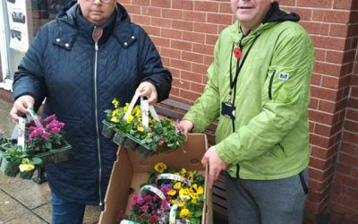 Mexborough First Councillors Personally Replace Vandalised Planters